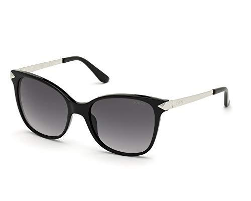 Guess gafas de sol GU7657 01C humo Negro tamaño de 56 mm de las Mujeres
