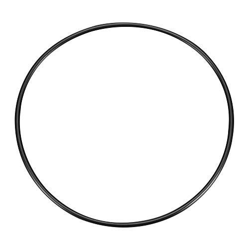 O-Ring aus Nitrilkautschuk, Dichtungsring, 5 mm x 200 mm, Schwarz de