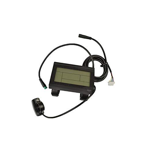 pswpower ebike 24V 36V 48V inteligente KT LCD LCD3ktlcd3pantalla de panel de control eléctrico para bicicleta partes KT controlador
