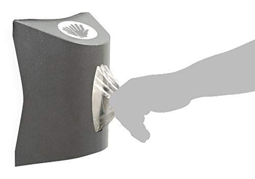 Dispensador de guantes desechables en block. Talla: 11 x 25 x 17,5 cm