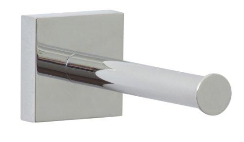 Nie Wieder Bohren ekkro Ersatzrollenhalter, hochglanzverchromt, inkl. Klebelösung, hohe Haltekraft (bis 6kg), 50mm x 50mm x 125mm