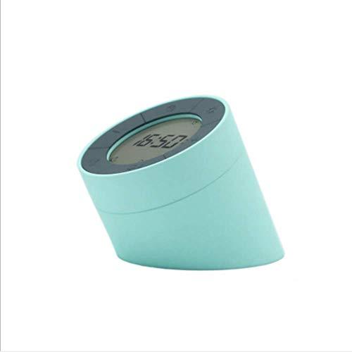 Apchy Digitale wekker met 2 alarmen, optionele weekdagmodus, snooze, smart nachtlampje, usb-opladen van een side time light kan worden omgedraaid