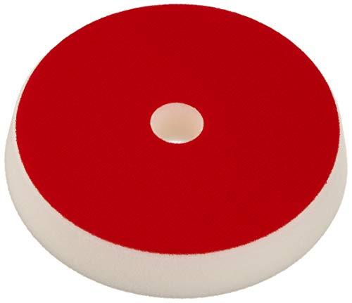 ALCLEAR Set de 2 Discos pulidor Suave para máquinas RUPES,para un Sistema de Disco Ø 163/150 x 30 mm, Blanco