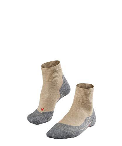 FALKE TK5 Short M So Chaussettes de randonnée Homme, Beige (Nature Melange 4100), 42-43 (UK 8-9 Ι US 9-10)