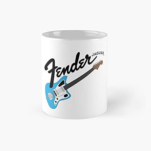 Ja-guar Guitar Classic Mug Best Gift Funny Coffee Mugs 11 Oz