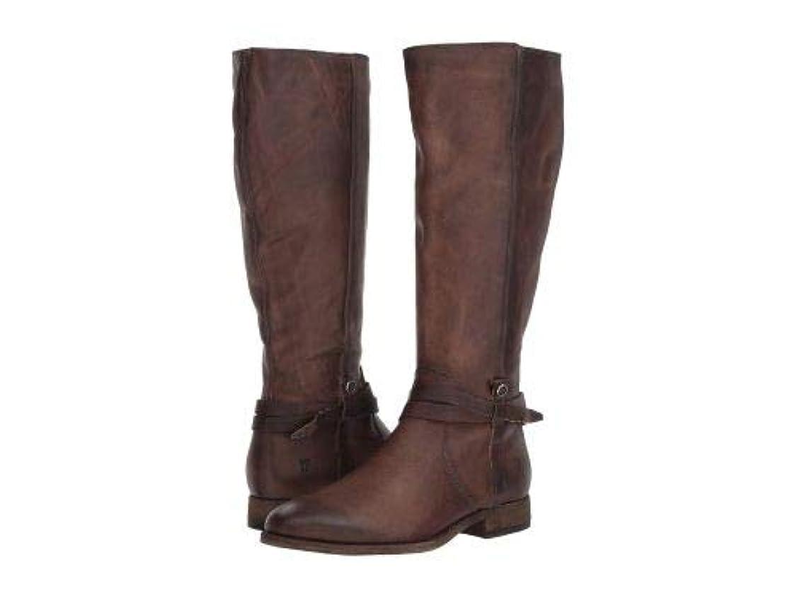 巨大ジャーナル統合するFrye(フライ) レディース 女性用 シューズ 靴 ブーツ ロングブーツ Melissa Belted Tall - Stone Extended Washed Oiled Vintage [並行輸入品]