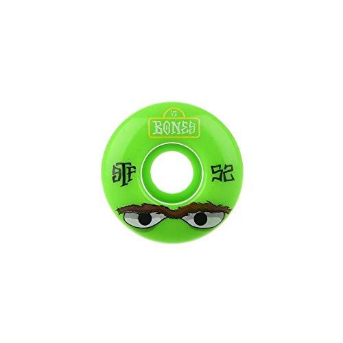 Bones Wheels Mean Greens 52mm [V1] Standards STF Wheels