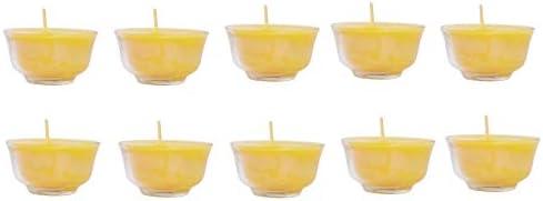 Mudra Crafts Tibetan Tealight Vanaspati Ghee Butter Lamp Candle Set for Meditation Ceremonies product image