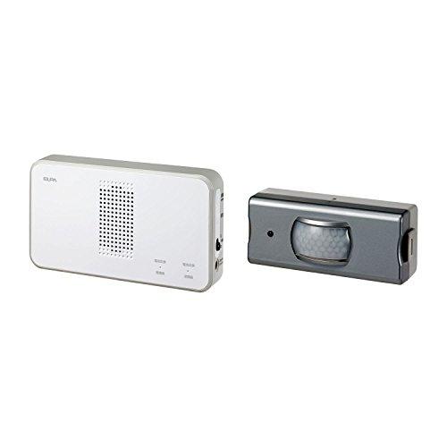 朝日電器 エルパ ELPA ワイヤレスチャイム センサーセット EW-5033