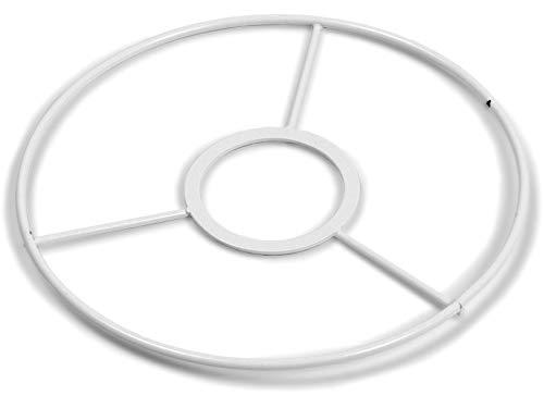 SMITS Fassungsringe rund weiß plastifiziert (50 cm)