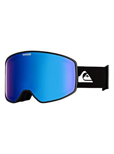 Quiksilver Herren Storm-Snowboard-/Skibrille für Männer, Black, 1SZ