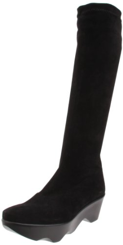 Robert Clergerie Women's Valora Boot,Black Desert,10 B US