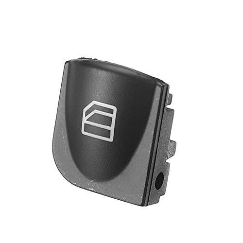 BotóN De Interruptor De Coche 2 Piezas de Ventana de alimentación Izquierda Interruptor Caps Cubierta de la Consola/Interruptor en Forma for Mercedes W203 C-Clase de la Ventana de energía C320 C230