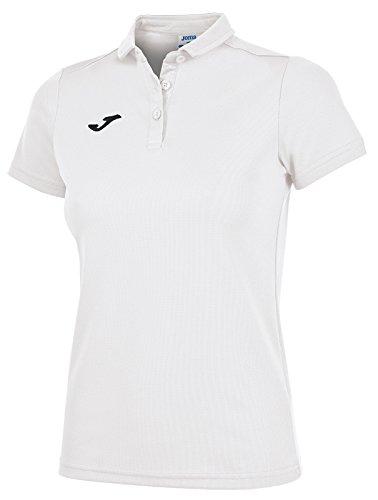 Joma 900247 Camiseta Polo, Mujer, Blanco, XL