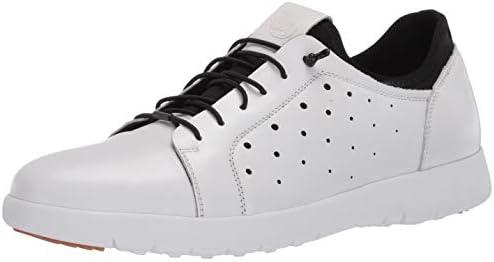 STACY ADAMS Men s Halden Cap Toe Elastic Lace Sneaker White 13 product image