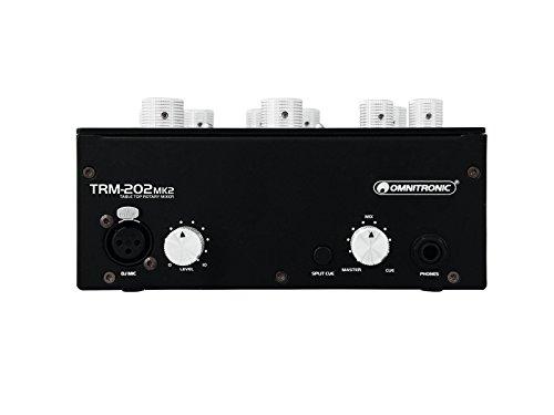 OMNITRONIC TRM-202 2-Kanal Rotary-Mixer MK2