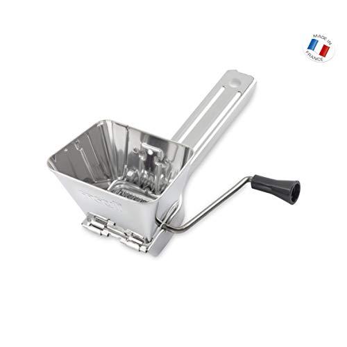 Moulinex A45606 - Rallador de Queso, Acero Inoxidable, Gris Metalizado