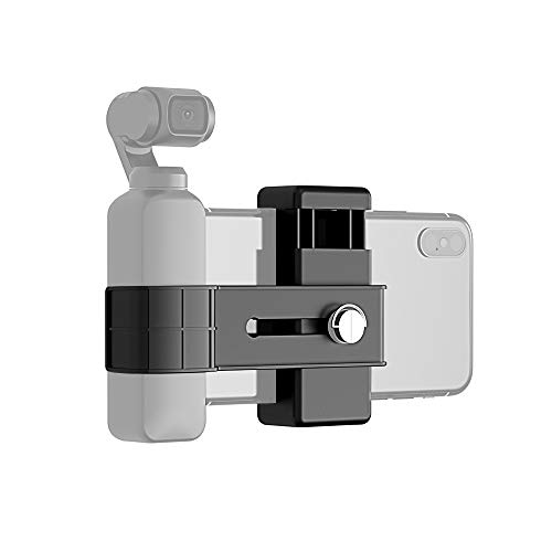 XIAODUAN-Accessories- - Smartphone Fixing Clamp 1/4 inch Holder Mount Bracket for DJI New Pocket
