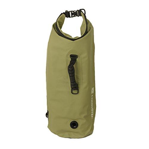 SM SunniMix Bolsa Estanca Saco Impermeable Bolsa Deporte para Kayak Paseo en Barco Canoa/Pesca/Rafting/Natación/Snowboard - Armada, 25L