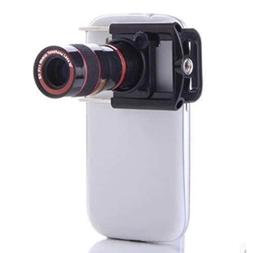 Telefoon Camera Lens Kit 8x Optische Zoom Universele Smartphone Telefoon Telescoop Lens, Universele mobiele telefoon plus stretch clip
