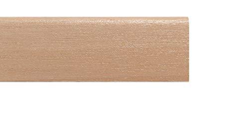 TWE - Tucci Wood Essence - Rodapiés moderno de madera de tanganika teñido natural 10 x 70 mm