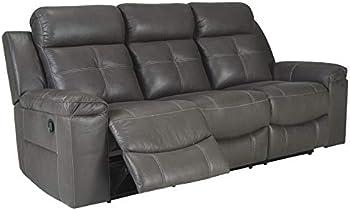 Signature Design by Ashley Jesolo Casual Faux Leather Reclining Sofa