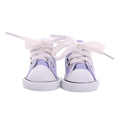 Dan&Dre Juguetes para Zapatos, Zapatillas de Deporte de 14 Pulgadas para muñecas, para muñecas American Girl, Zapatos de Lona para muñecas, Zapatos para muñecas