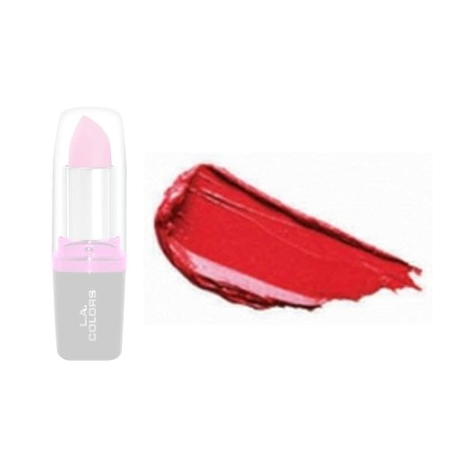 歩道比類のない額(6 Pack) LA Colors Hydrating Lipstick - Wild Fire (並行輸入品)