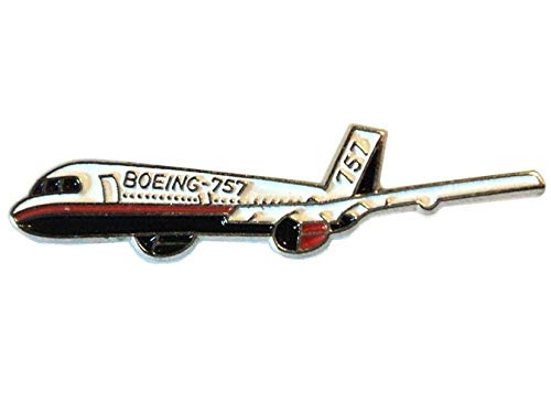 Boeing C-32 757 Jet Aeroplane Metal Enamel Pin Badge Lapel Brooch