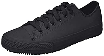 Skechers for Work Women s Gibson-Hardwood Slip-Resistant Sneaker Black 10 M US