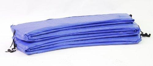 Trampolin Randabdeckung blau für nahezu alle Trampoline 366 Ø Rahmenpolsterung