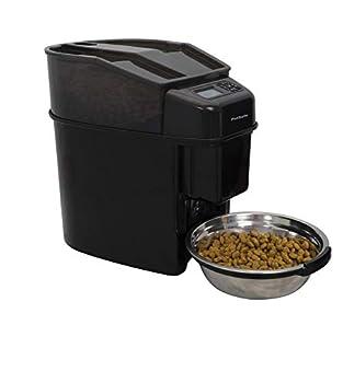 PetSafe - Distributeur Automatique de Croquettes pour Chiens et Chats 5.6L Healthy Pet Simply Feed- Programmable jusqu'à 12 Repas/Jour avec Ecran LCD, fonctionne avec 4 piles