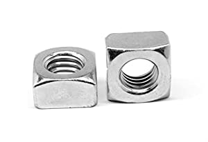 12L14 Steel Hex Nut Class 2B 1//4-20 Threads Made in US Right Hand Threads Black Oxide Finish 1//4 Width Across Flats