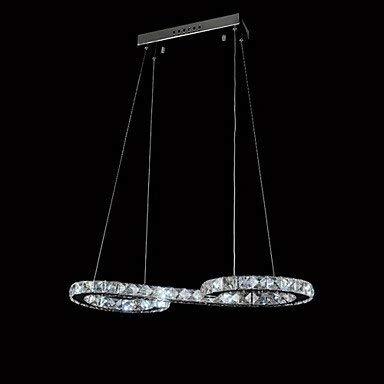L-S Moderne Kronleuchter Deckenleuchten Anhänger Led Kronleuchter Kristalllampe Deckenleuchte Luxus Moderne Lampen 90-240 v 3C Ce FCC Rohs für Wohnzimmer Schlafzimmer, 90-240v