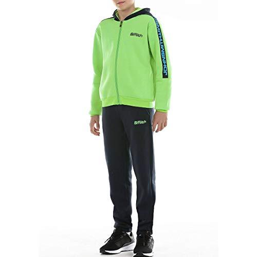 John Smith Roter J Conjunto Deportivo, Niños, Verde Fluor, 12