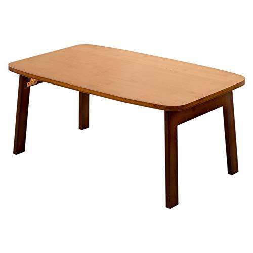 LLA klaptafel mini kleine tafel ruimtebesparende bureau houten bureau kleine eettafel bank tafel luie tafel laptop tafel bed eenvoudige bureau verwijderbare bureau bureau L60w40