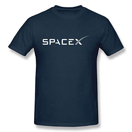 Spezielles Herren SPACEX Logo Crew T-Shirt