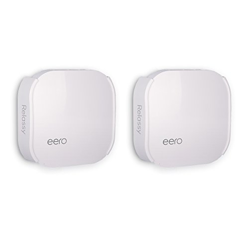 Wall Mount Bracket for eero Home WiFi Relassy eero Wall Mount Compatible with eero WiFi System Ceiling Holder for eero Pro WiFi System (2 Pack)