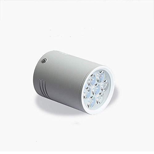 7 W/12 W/18 W LED aluminium eenvoudige montage spots, High Color Rendering Surface Mounted energiebesparing Duurzaam plafond bekleding licht binnendecoratie verlichting plafondlamp Soul hill