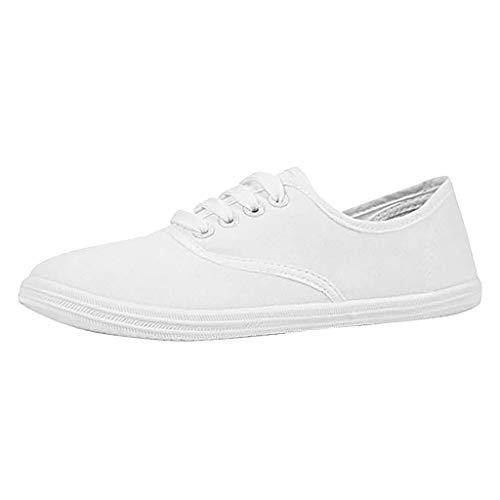 Baskets Mode Femme Sneakers Tennis Chaussures De Toile A Lacets Plates Canvas Confortables Pas Cher Mode LéOpard Imprimé Chaussures DéContractéEs