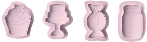 IBILI 788410 - Set 4 Cortapastas Sweet