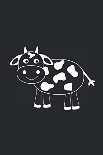 Notizbuch: Kuh Kühe Rind Rinder Bauern Landwirtschaft liniertes Buch zum reinschreiben .Notizbuch zum individuellen Gebrauch z.B für Notizen Ideen ... Notizheft Planer Journal Poesiealbum...