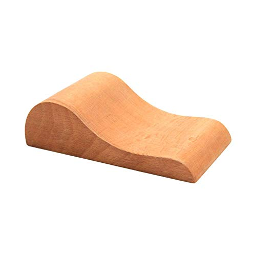 XJF Cuero Craft encerado Haya banda de reloj doblada pasta de madera DIY herramienta 12,2 x 6 x 3,5 cm
