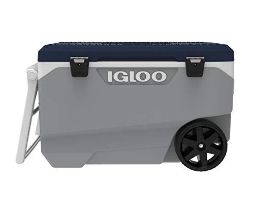 IGLOO Maxcold Latitude Enfriador, Gris Ceniza, 85 Liters