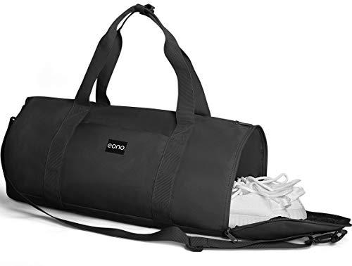 Eono by Amazon - 25L Sporttasche Reisetasche mit Schuhfach & Nassfach, trocken nass getrennt Sporttasche mit Mehreren Taschen f¨¹r Reisen, Training, Fitness, Schwimmen