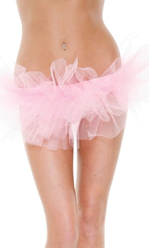 Forplay Women's Petticoat Tutu, Pink, One Size
