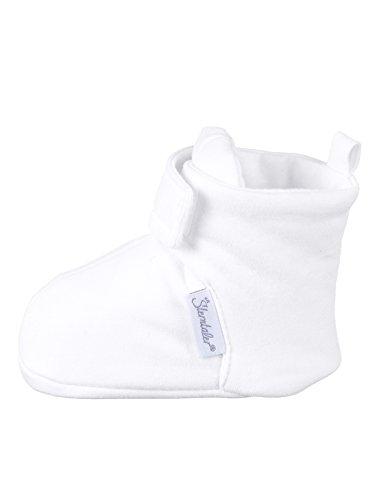 Sterntaler Unisex Baby-Schuh Krabbel-& Hausschuhe, Weiß, 19/20 EU