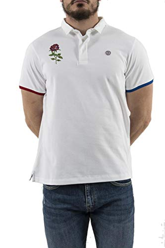 Serge Blanco Herren Poloshirt Gr. XX-Large, weiß