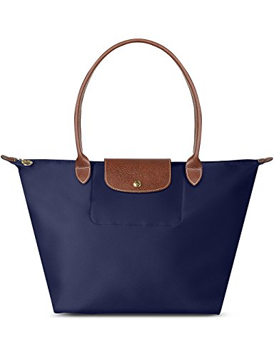 Longchamp Le Pliage Shoulder Bag Large Navy One Size