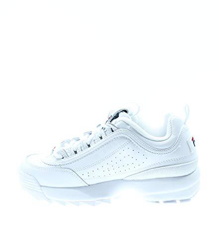 Fila 5FM00002-125 Disruptor II Premium White Sneaker, Weiß - Bianco - Größe: 40.5 EU